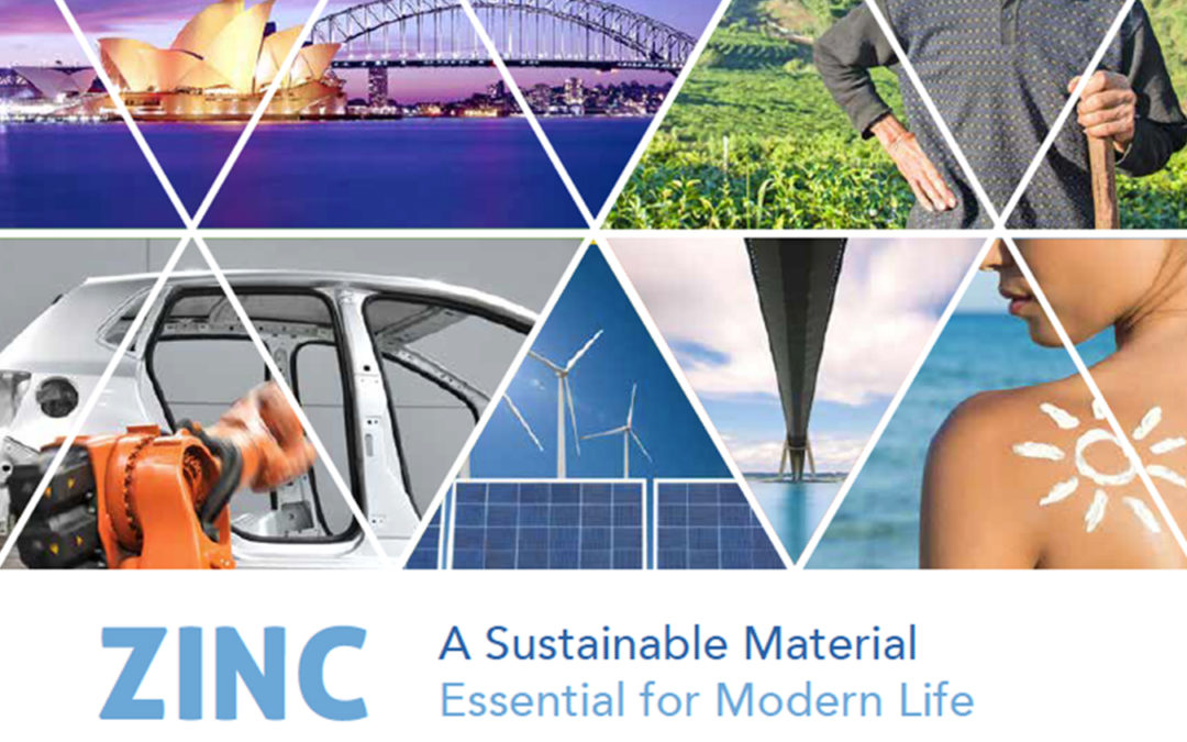 Zinc: A Sustainable Material, Essential for Modern Life