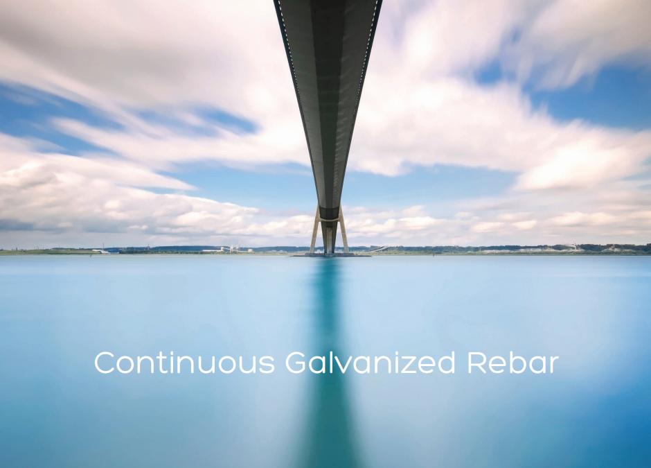 Continuous Galvanized Rebar
