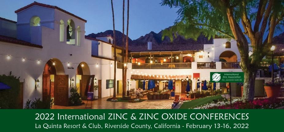 2022 International Zinc & Zinc Oxide Conferences