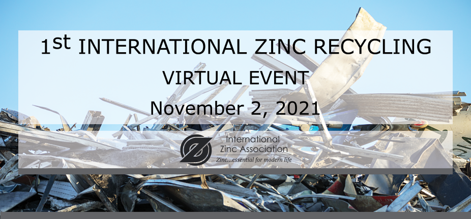 International Zinc Recycling – Virtual Event